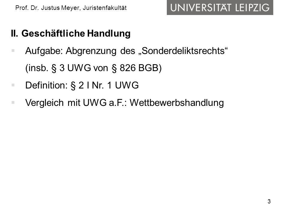 3 Prof. Dr. Justus Meyer, Juristenfakultät II.