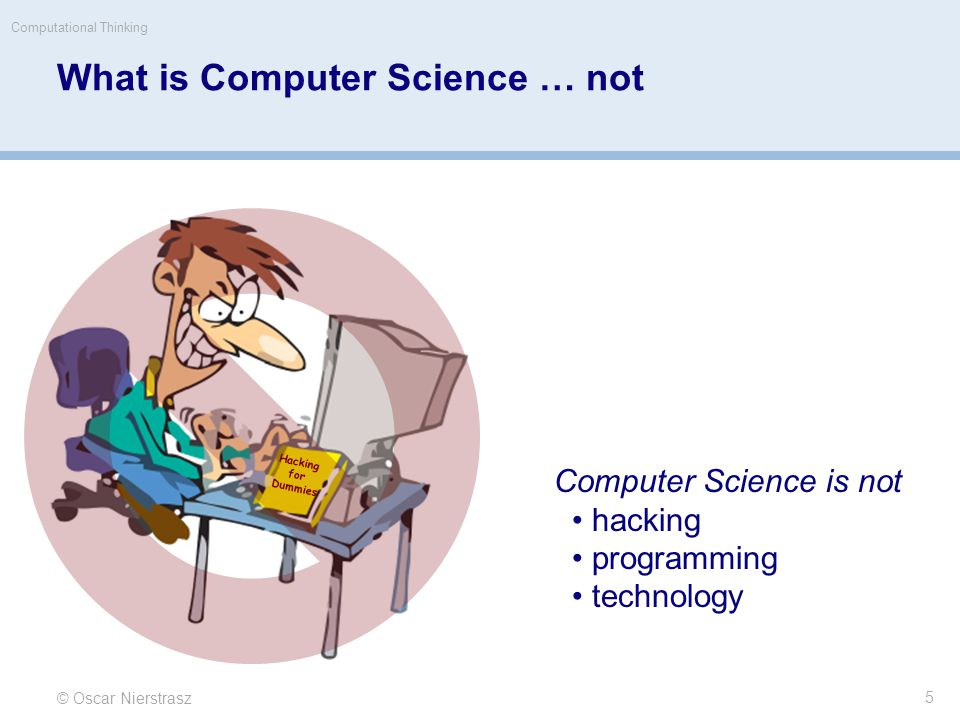 What is Computer Science.