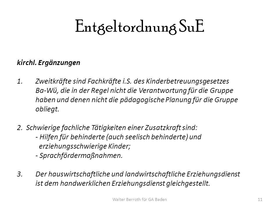 Walter Berroth für GA Baden11 Entgeltordnung SuE kirchl.