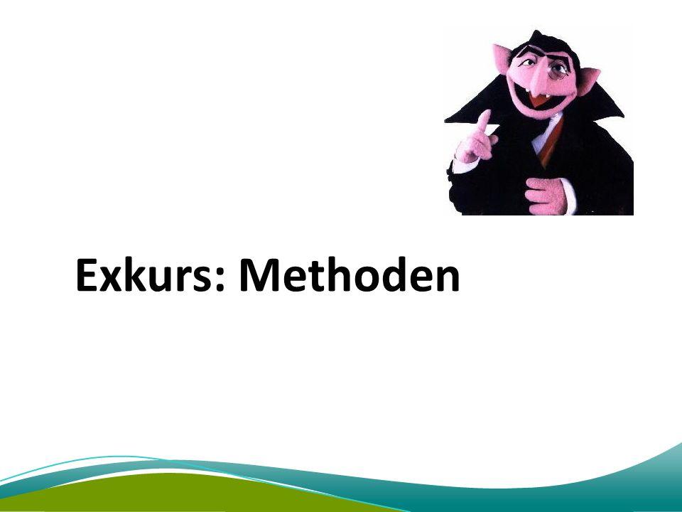 Exkurs: Methoden