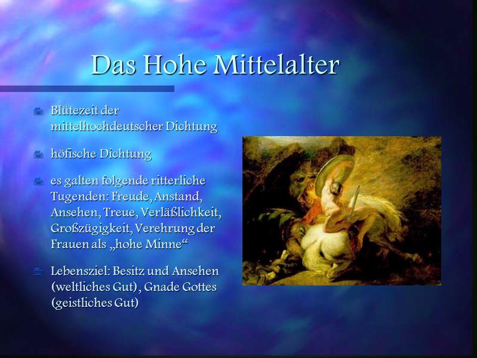 Einleitung Unter Mittelalter versteht man die geschichtliche Epoche, die zwischen der Zeit der Völkerwanderung (500 n. Ch., Ende des Altertums) und de