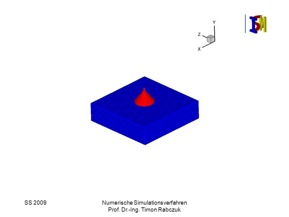 SS 2009Numerische Simulationsverfahren Prof. Dr.-Ing. Timon Rabczuk