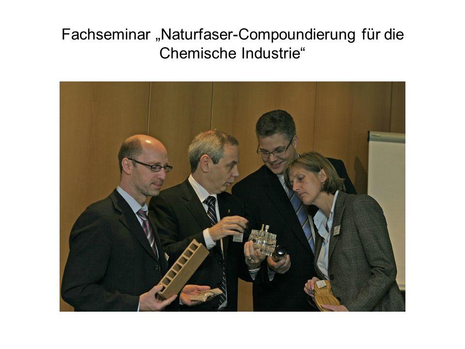 """Fachseminar """"Naturfaser-Compoundierung für die Chemische Industrie"""
