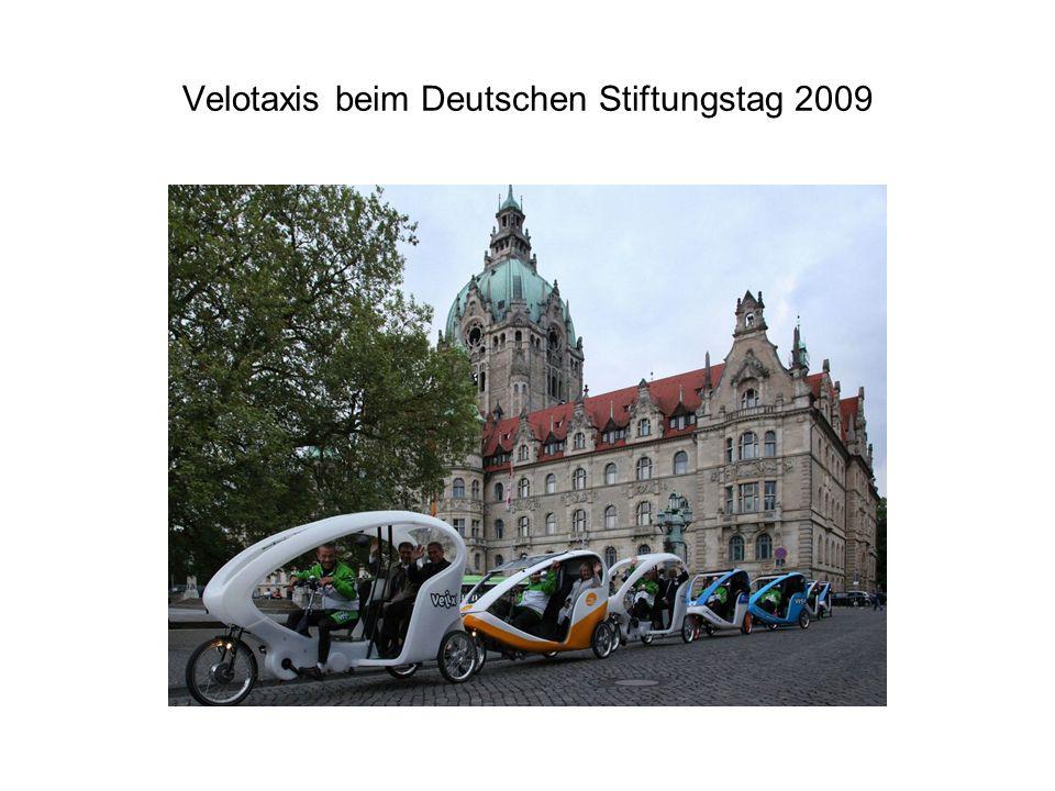 Velotaxis beim Deutschen Stiftungstag 2009