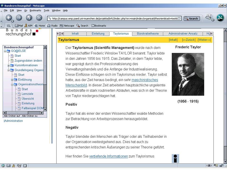 LMU München, Department Psychologie, Prof. Dr. Heinz Mandl