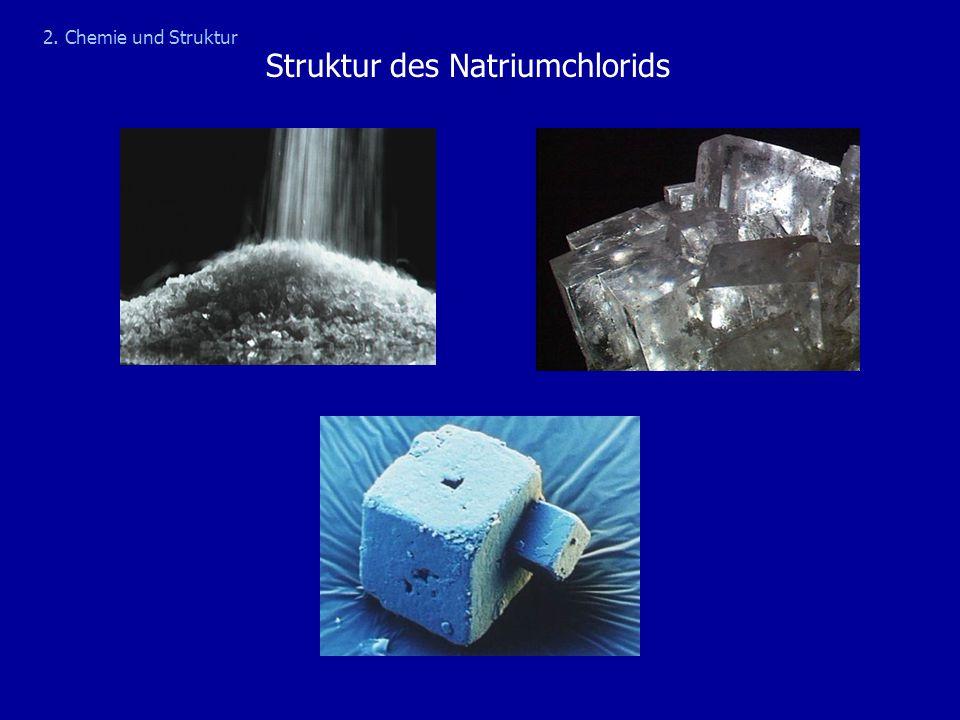 Struktur des Natriumchlorids 2. Chemie und Struktur