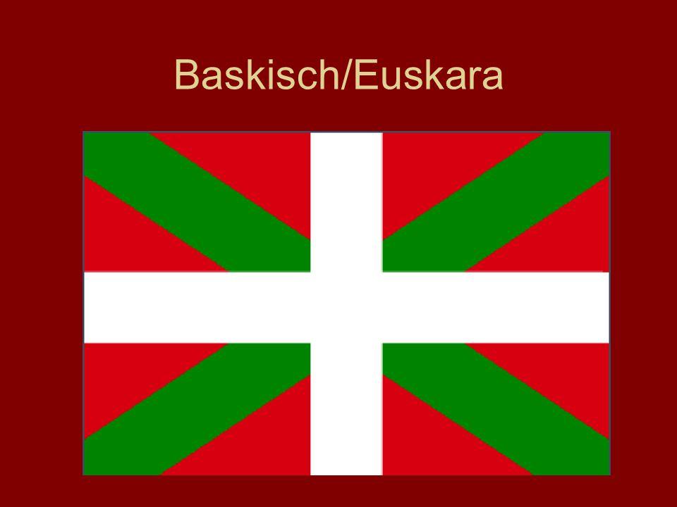 Baskisch/Euskara