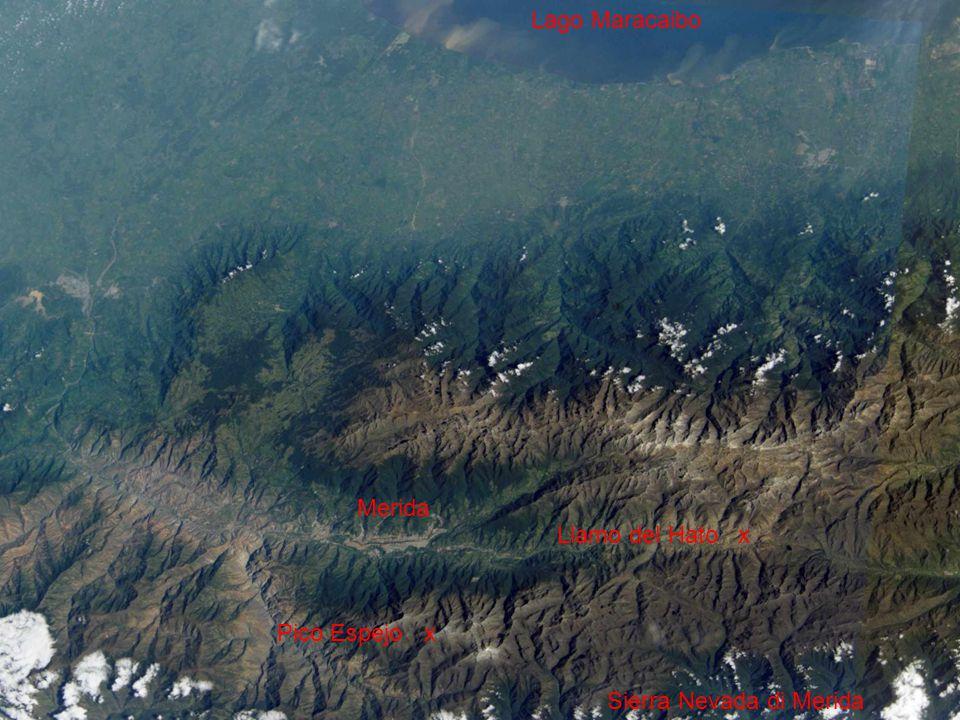 Lago Maracaibo Sierra Nevada di Merida Pico Espejo x Llamo del Hato x Merida