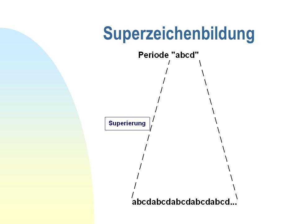 Superzeichenbildung