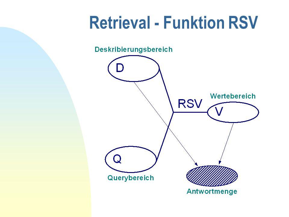 Retrieval - Funktion RSV