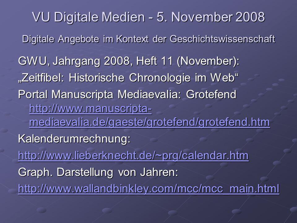 VU Digitale Medien - 5.