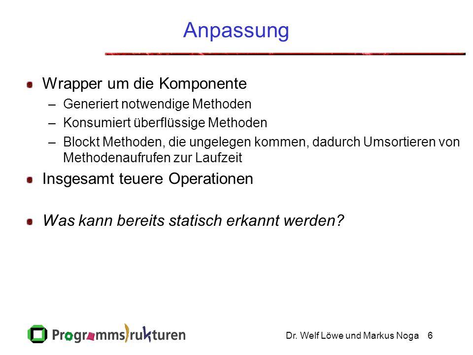 Dr.Welf Löwe und Markus Noga7 Problem...