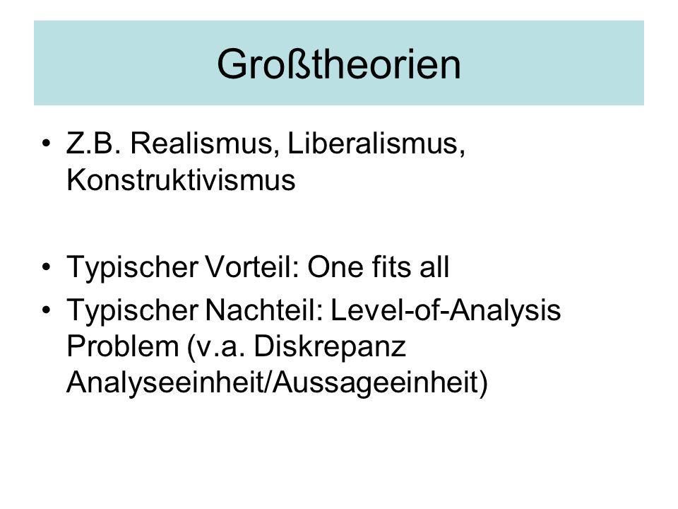 Großtheorien Z.B.