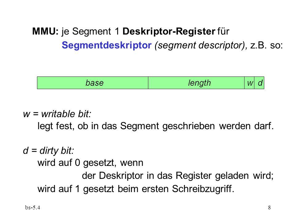bs-5.49  MMU sieht so aus: base length w d 0123456701234567 Achtung: evtl.