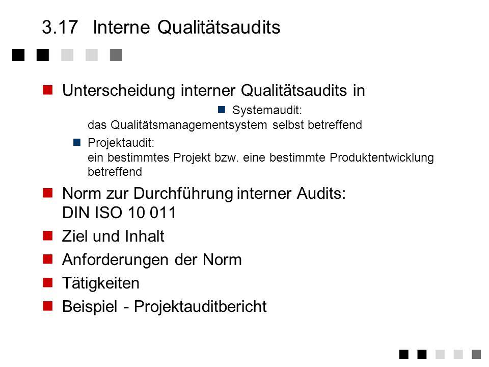 3.16.2Anforderungen der Norm Festlegung der erforderlichen Qualitätsaufzeichn.