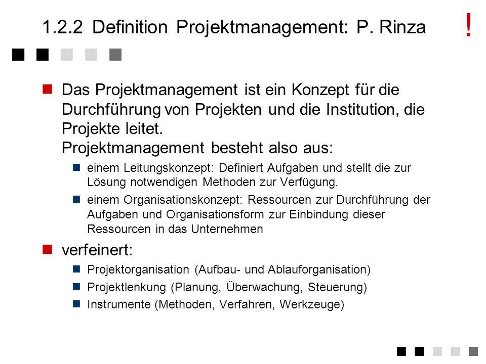 1.2.1Definition Management: P.