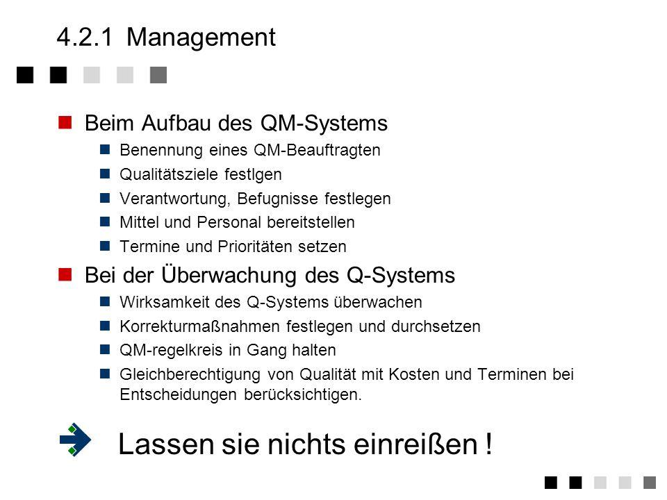 4.2Zuständigkeiten Management Mitarbeiter