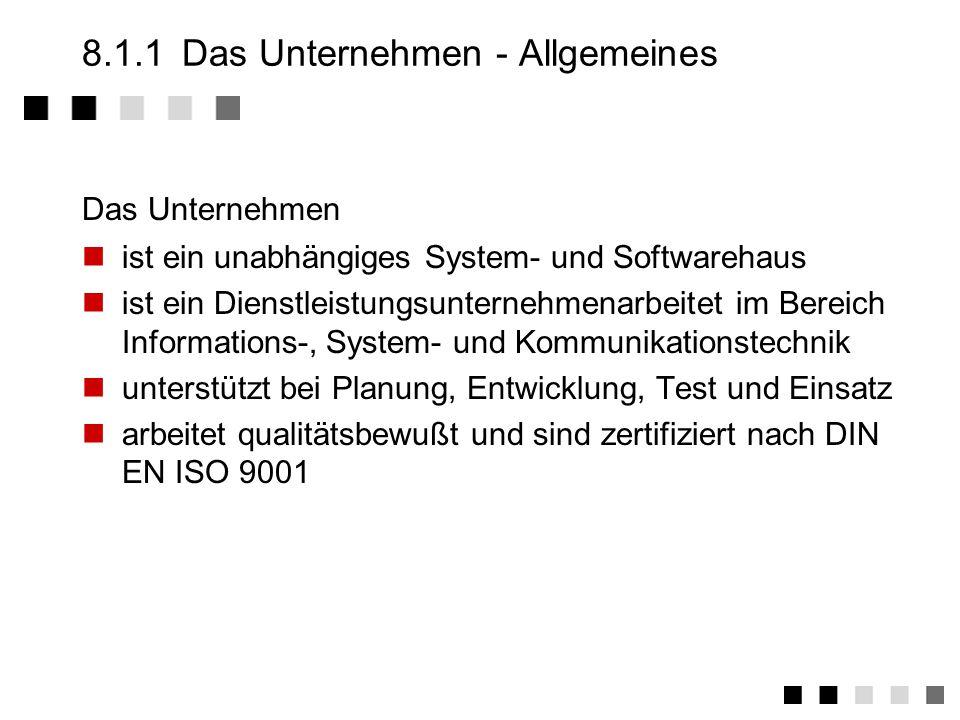 8.4.10Ergänzende Bestimmungen Welche vertragsrelevanten Dokumente haben noch Gültigkeit.