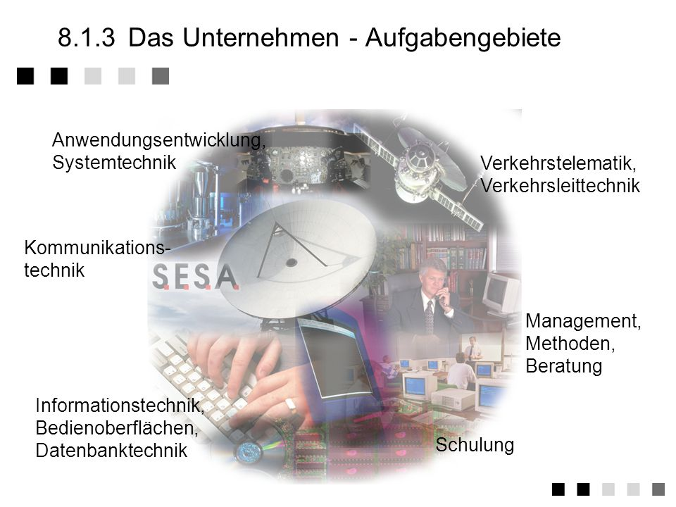 8.1.11Anwendungen, Begriffe Beraterverträge Erstellung von Konzepten und Spezifikationen Softwareentwicklung bei AG durch eigene MA (Software- Service) Softwareentwicklung Systemlösungen (Hardware und Software) Überlassung von Software (Anpassung und / oder Verkauf) Wartung Schulung, Einweisung Lizensierung Outsourcing