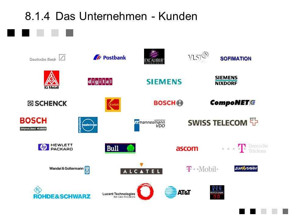 8.1.4Das Unternehmen - Kunden
