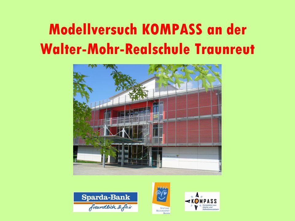 Modellversuch KOMPASS an der Walter-Mohr-Realschule Traunreut