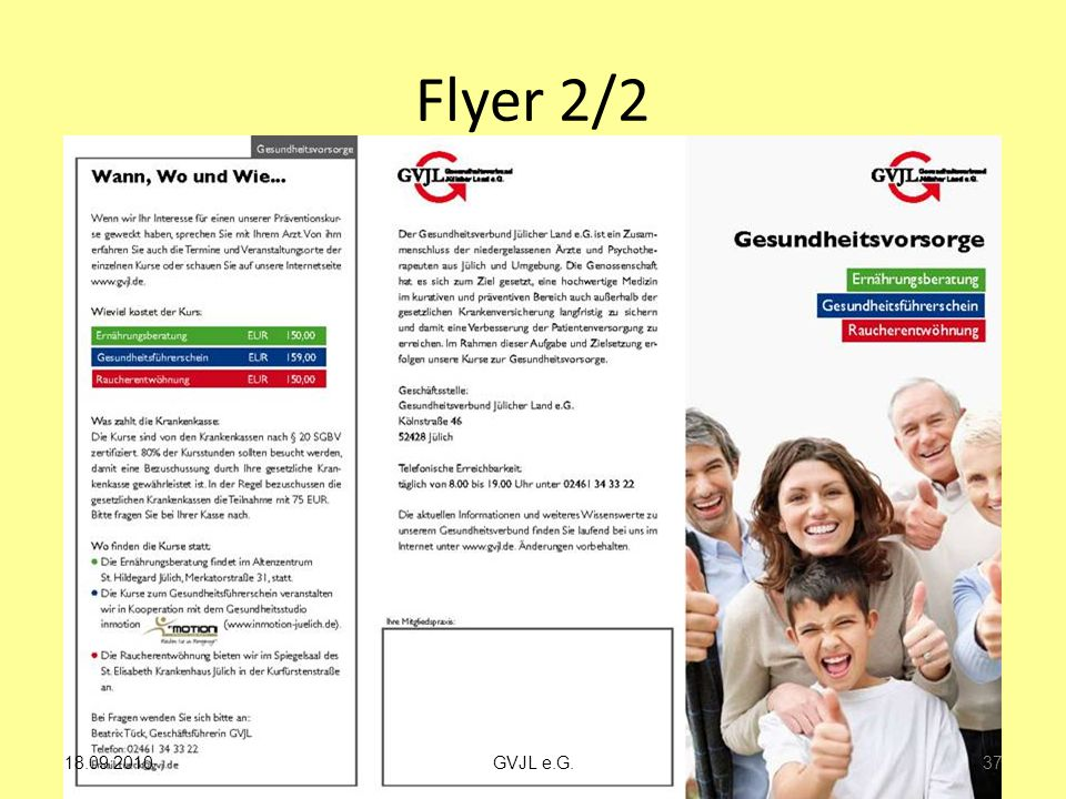 Flyer 2/2 37 GVJL e.G.18.09.2010