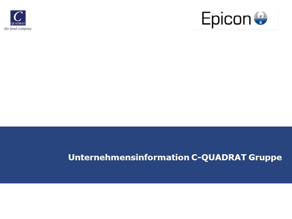 Unternehmensinformation C-QUADRAT Gruppe