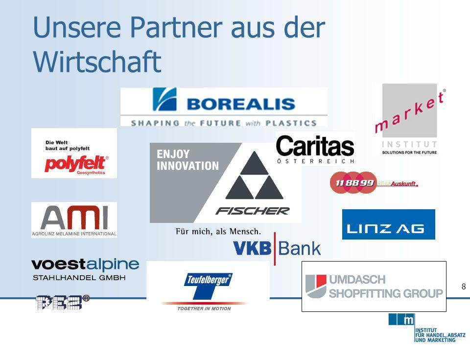 8 Unsere Partner aus der Wirtschaft