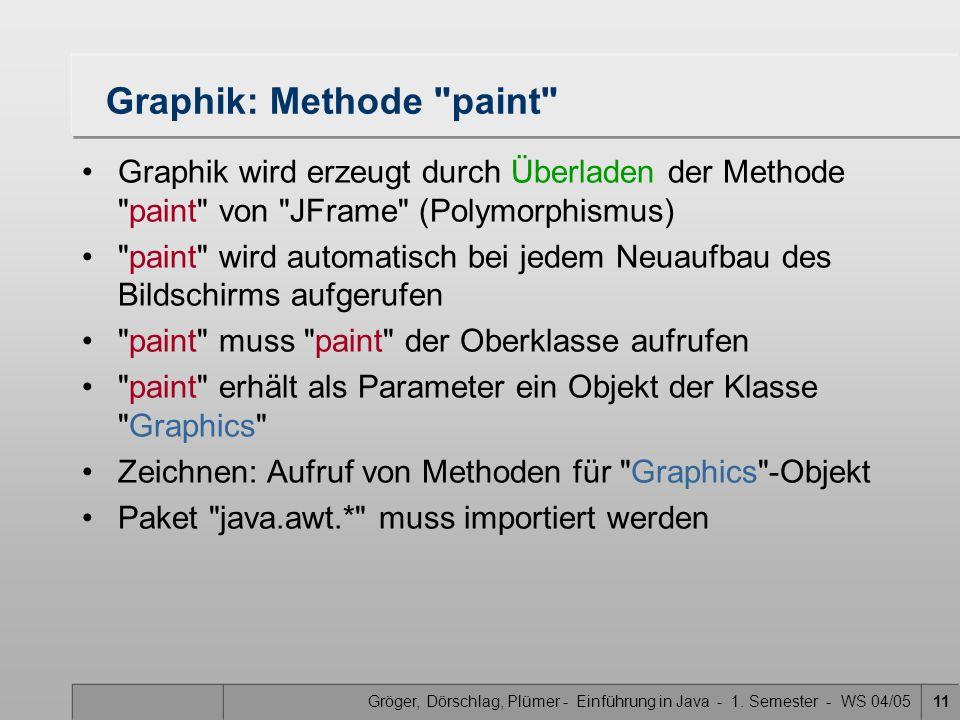 Gröger, Dörschlag, Plümer - Einführung in Java - 1.