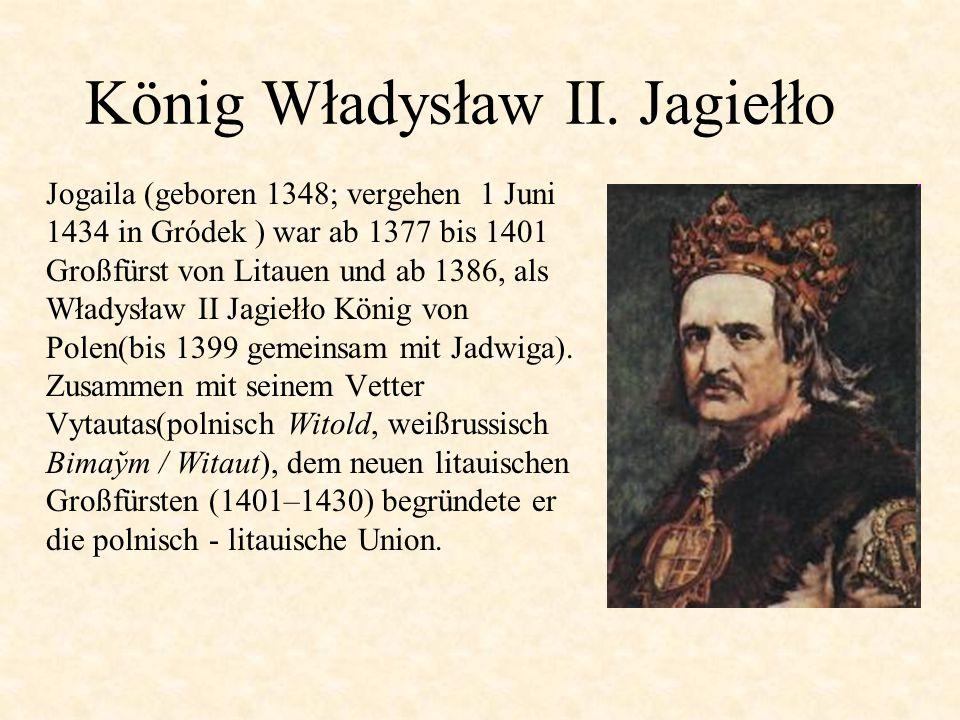 König Władysław II.