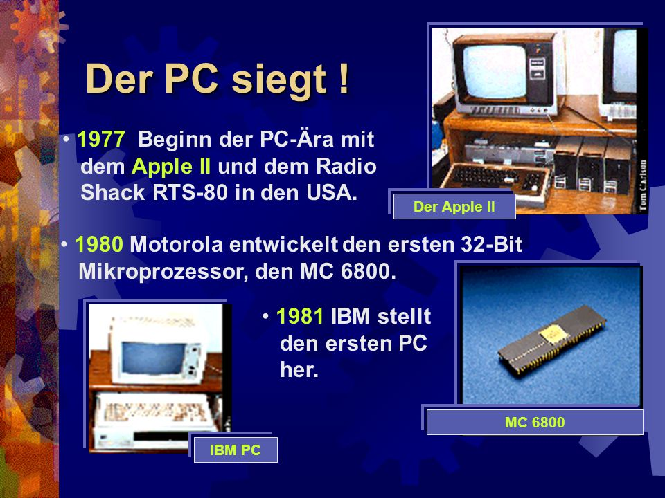 Macintosh und Internet 1984 Apple stellt den Apple Macintosh vor.