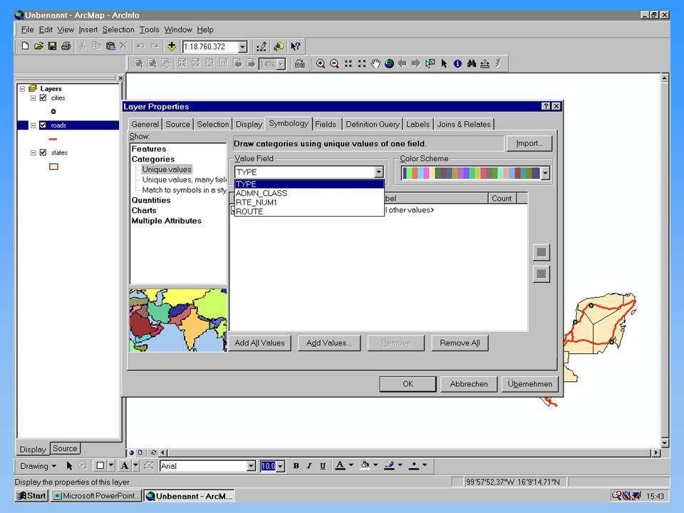 Michael Haas Karten II diskrete Phänomene 12.11.2001Proseminar GIS24