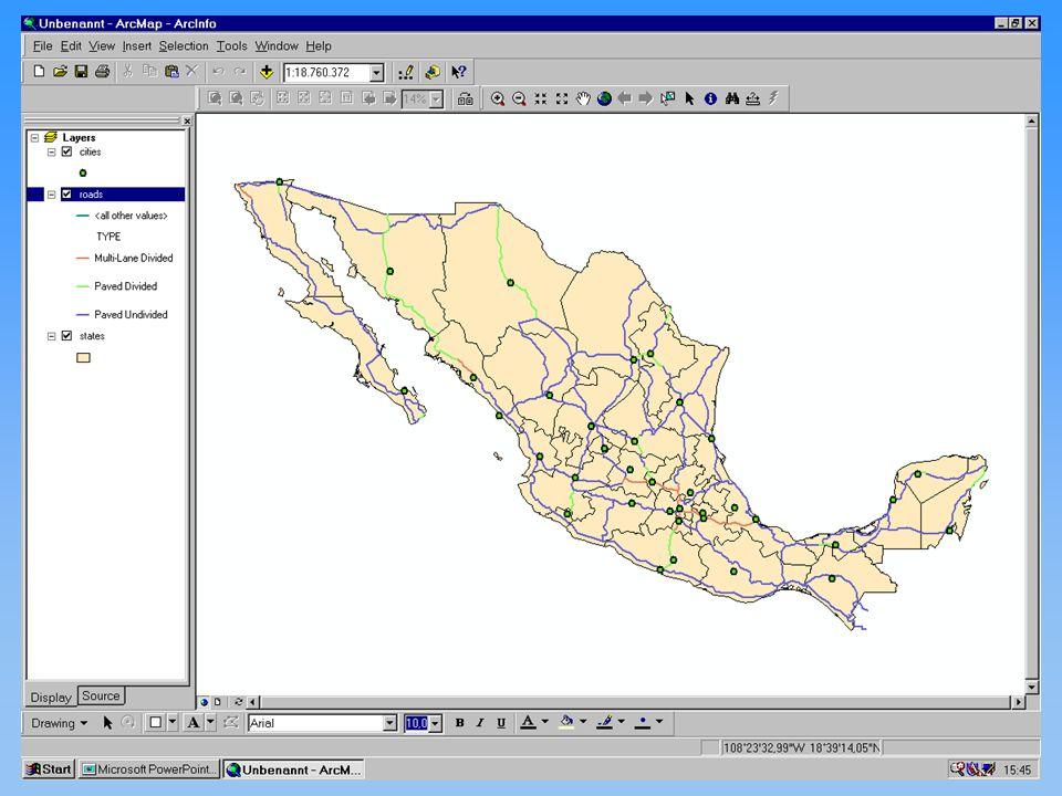 Michael Haas Karten II diskrete Phänomene 12.11.2001Proseminar GIS27