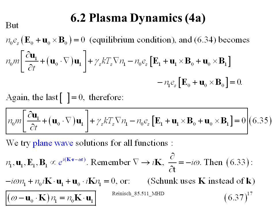 Reinisch_85.511_MHD17 6.2 Plasma Dynamics (4a)