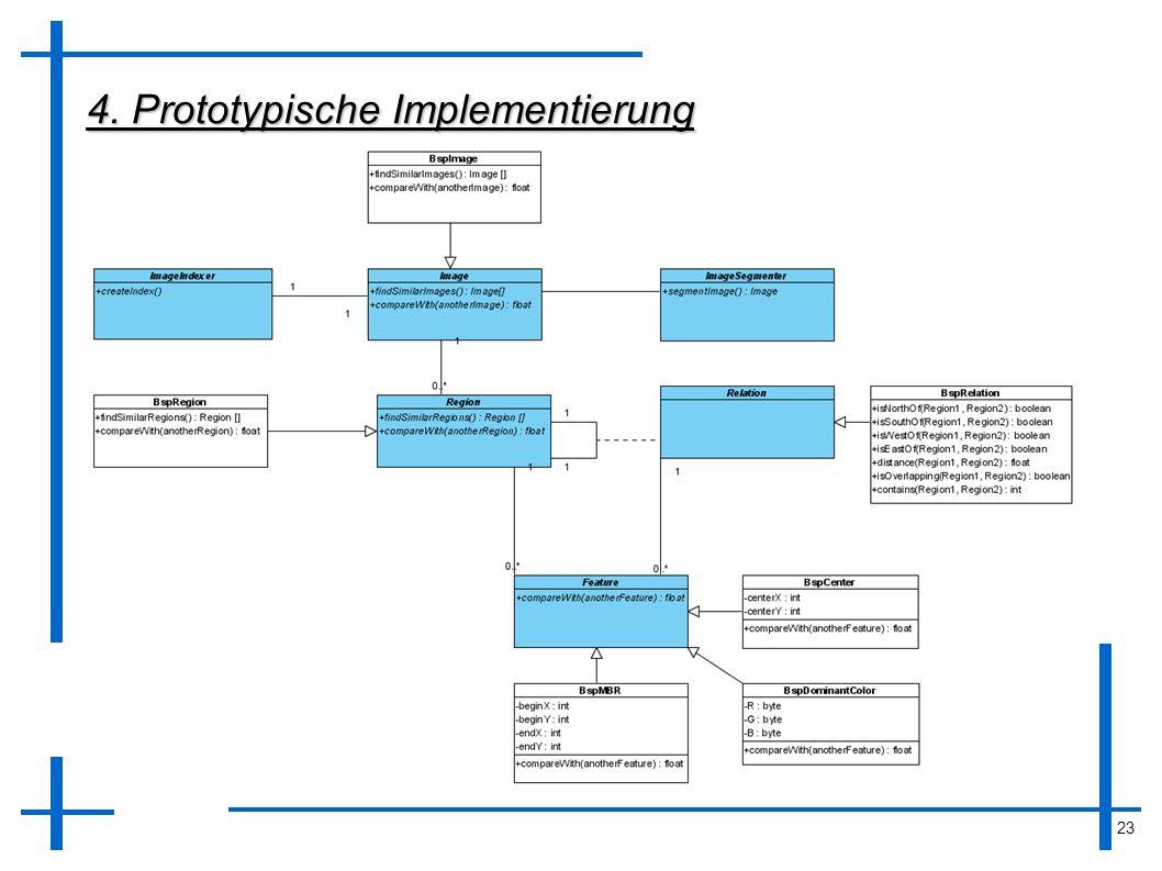 23 4. Prototypische Implementierung