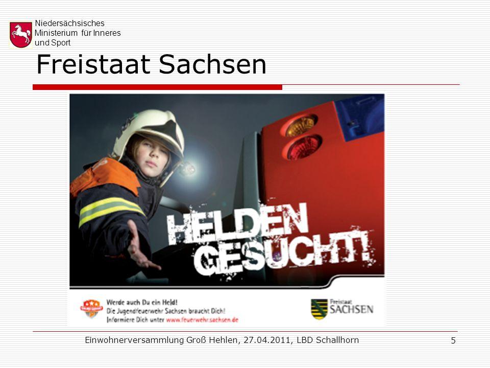 Niedersächsisches Ministerium für Inneres und Sport Einwohnerversammlung Groß Hehlen, 27.04.2011, LBD Schallhorn 6