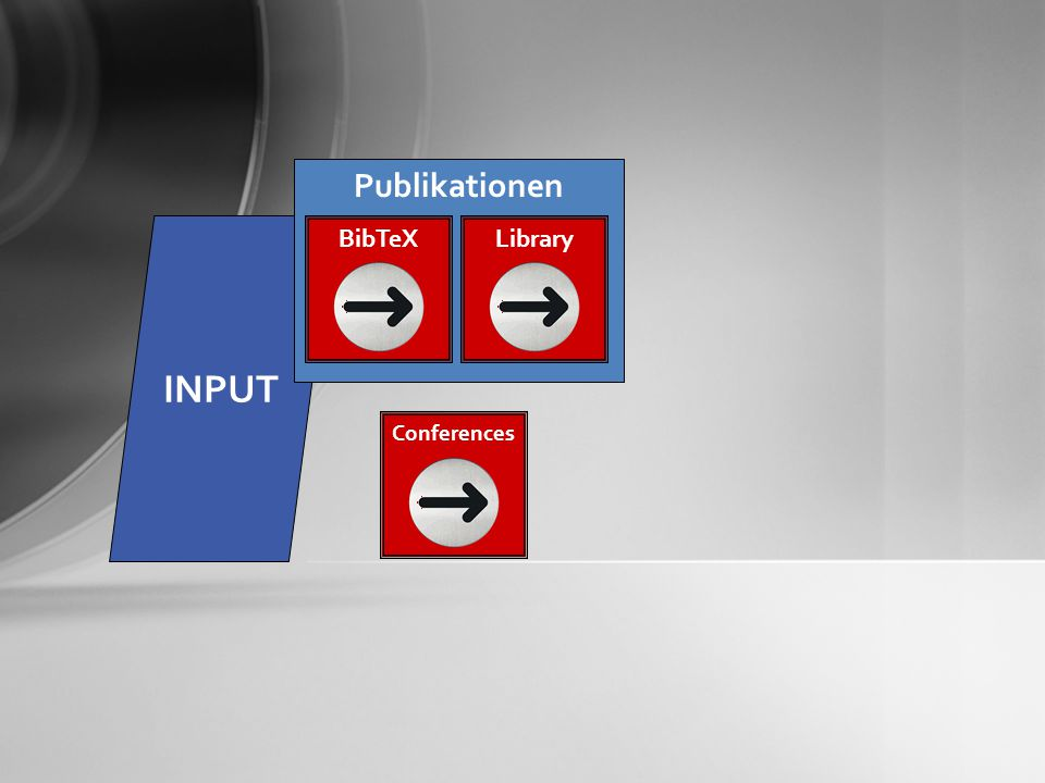 INPUT Publikationen BibTeXLibrary Conferences