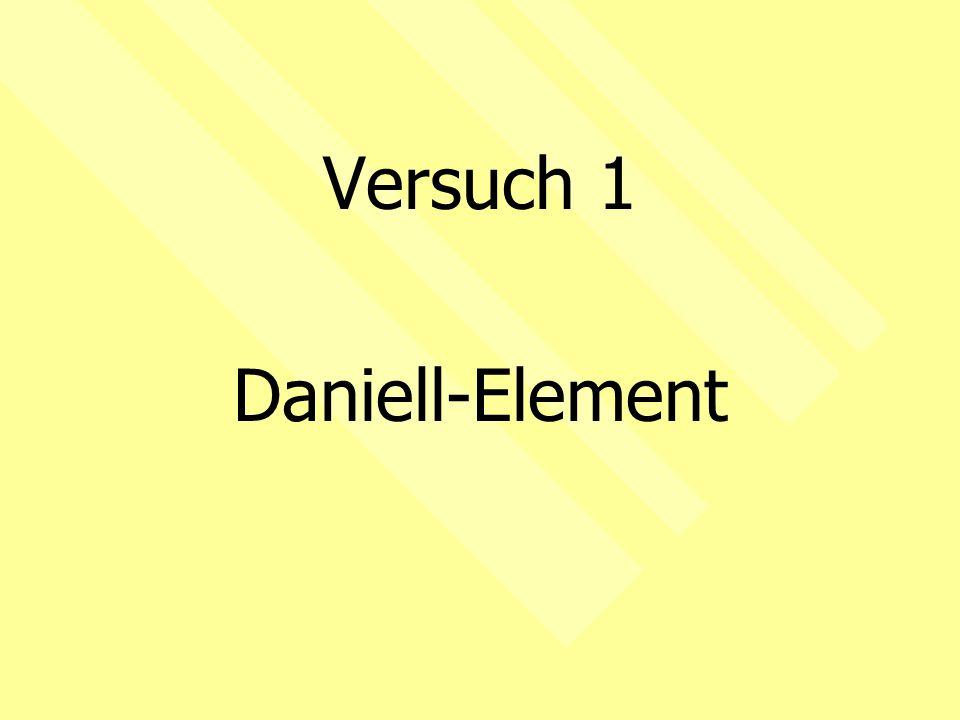 Versuch 1 Daniell-Element