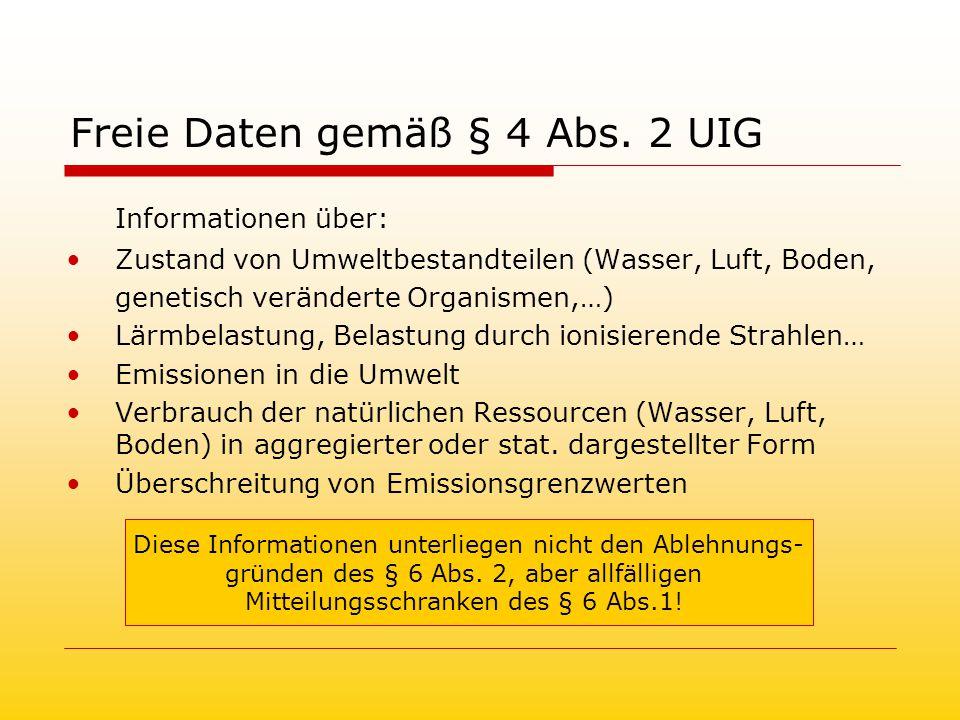 Freie Daten gemäß § 4 Abs.
