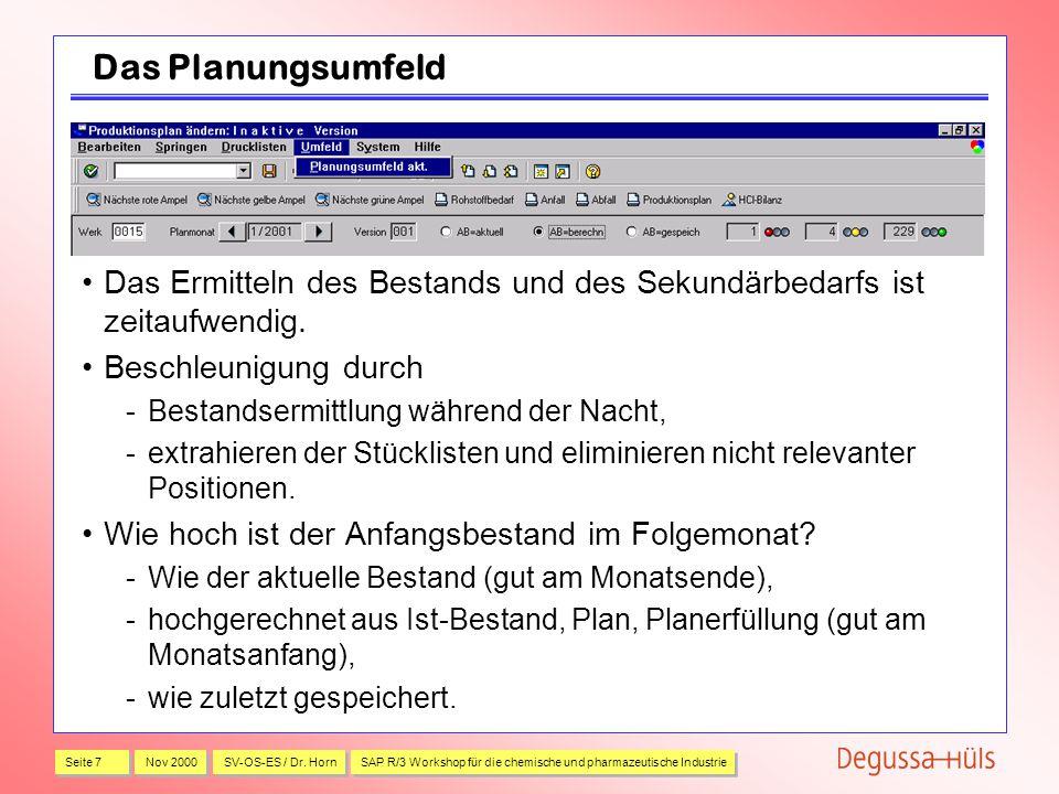 Seite 7 Nov 2000 SV-OS-ES / Dr.