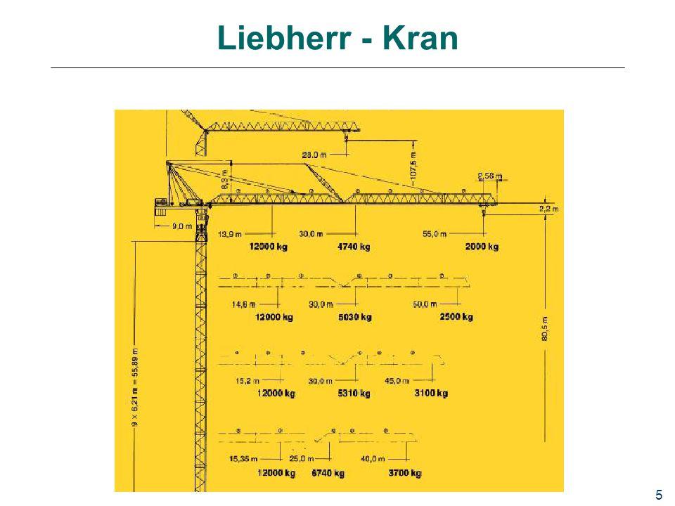 5 Liebherr - Kran