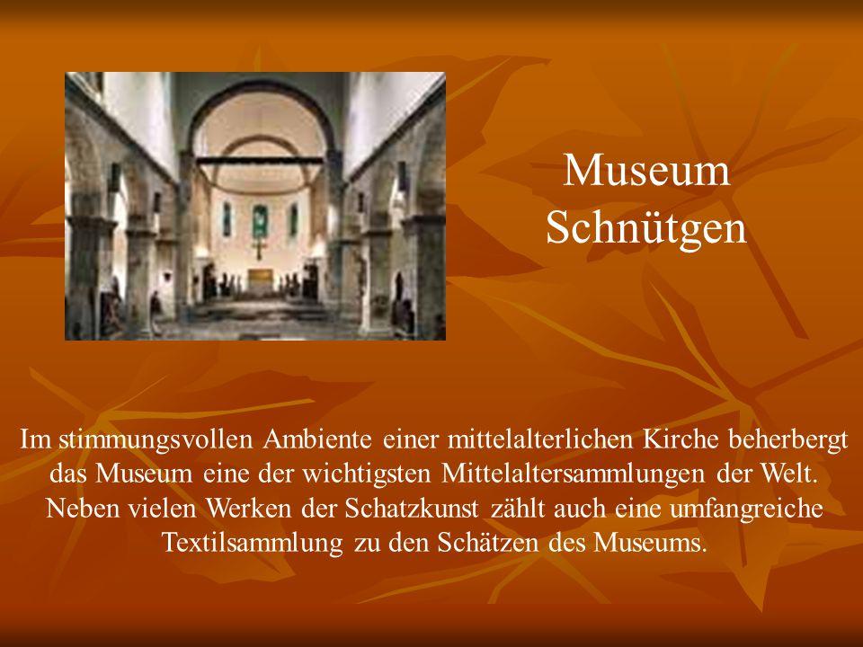 Im stimmungsvollen Ambiente einer mittelalterlichen Kirche beherbergt das Museum eine der wichtigsten Mittelaltersammlungen der Welt.
