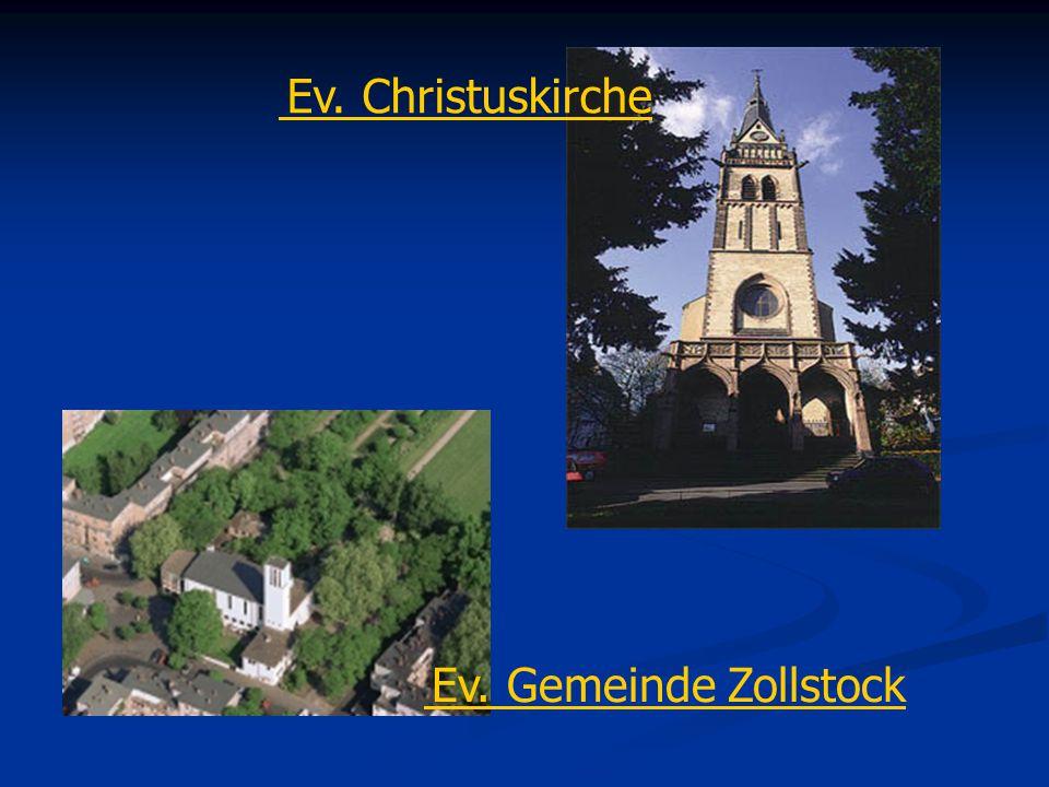 Ev. Gemeinde Zollstock Ev. Christuskirche