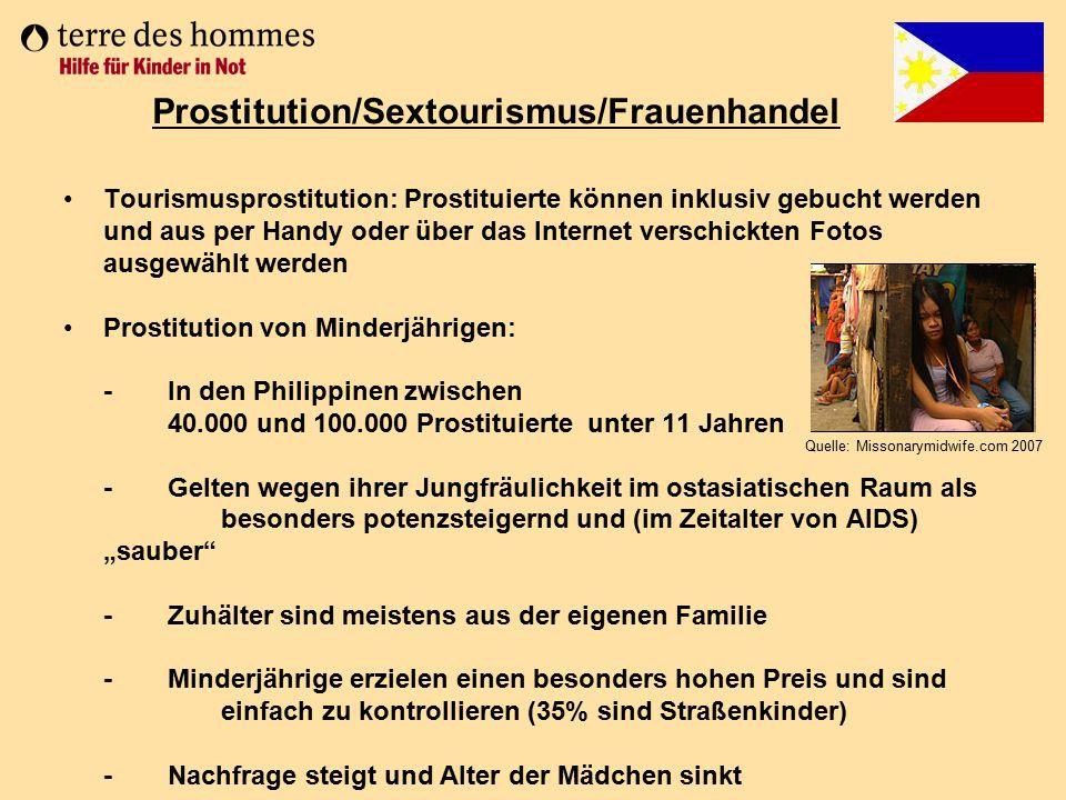 Tourismusprostitution: Prostituierte können inklusiv gebucht werden und aus per Handy oder über das Internet verschickten Fotos ausgewählt werden Pros