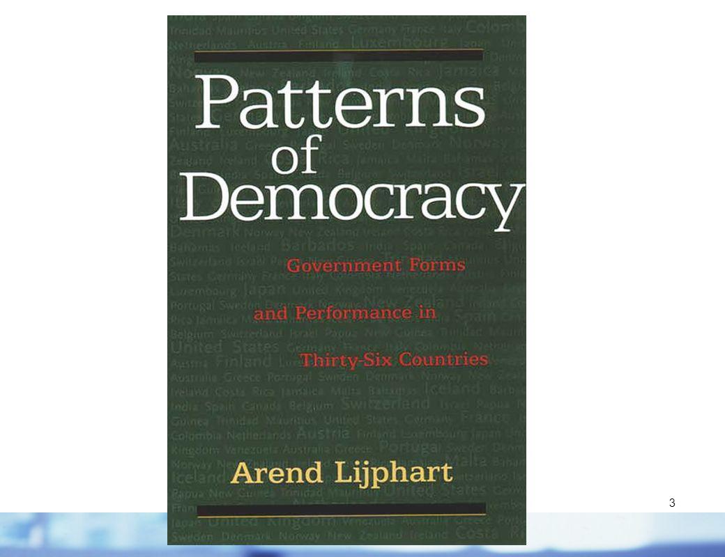 4 Lijpharts Typologie demokratischer Systeme Ausgangsfrage: Wer regiert.