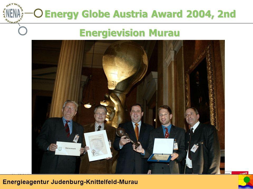 04.-05.04.06 Kick-Off Meeting, Hittisau Energieagentur Judenburg-Knittelfeld-Murau Energy Globe Austria Award 2004, 2nd Energievision Murau