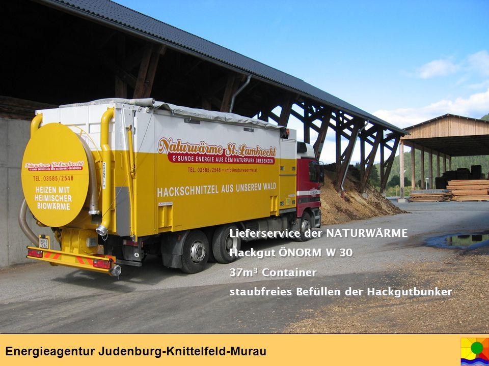04.-05.04.06 Kick-Off Meeting, Hittisau Energieagentur Judenburg-Knittelfeld-Murau Lieferservice der NATURWÄRME Hackgut ÖNORM W 30 37m 3 Container staubfreies Befüllen der Hackgutbunker Lieferservice der NATURWÄRME Hackgut ÖNORM W 30 37m 3 Container staubfreies Befüllen der Hackgutbunker