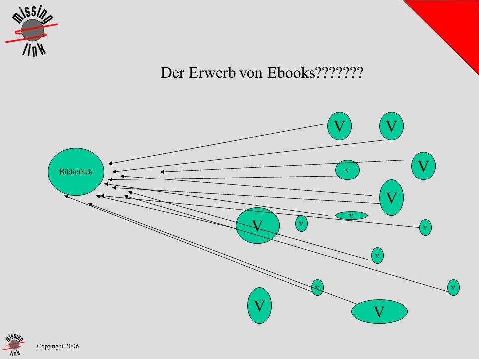 Copyright 2006 Der Erwerb von Ebooks??????? Bibliothek V V v V V v v v V V V v v v