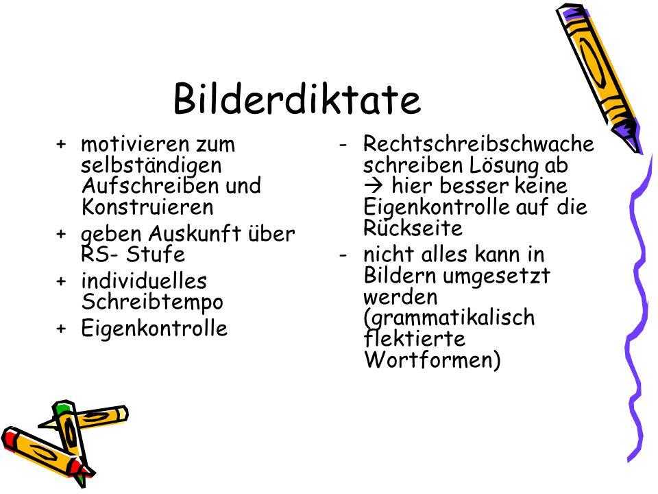 Diktat-TIPPS für Lehrer Gezielte Vorbereitung von Diktaten Lernpsychologisch: Diktat nicht Diktat nennen, sondern: ??.