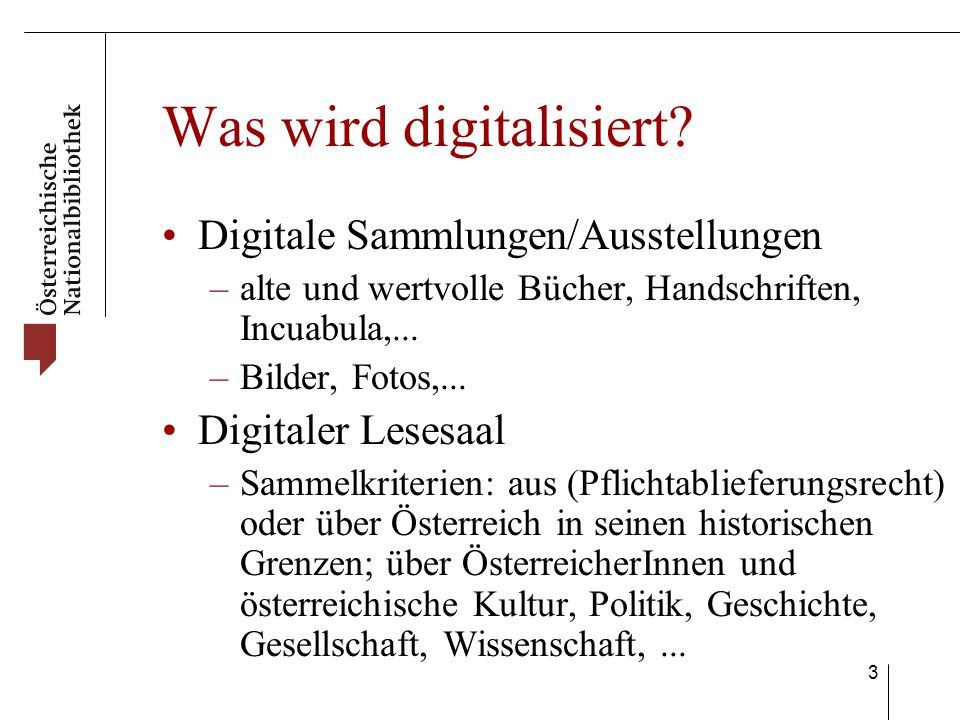 4 Wie wird digitalisiert.kritische Masse versch.
